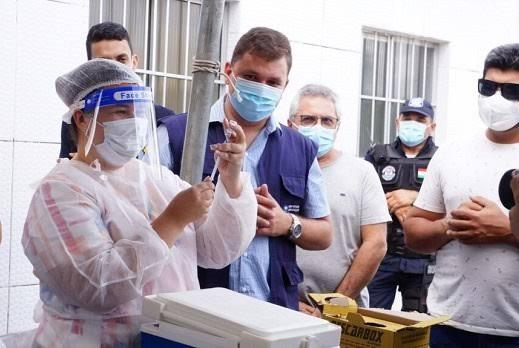 Covid-19: Mamanguape vacina 16+ com comorbidades