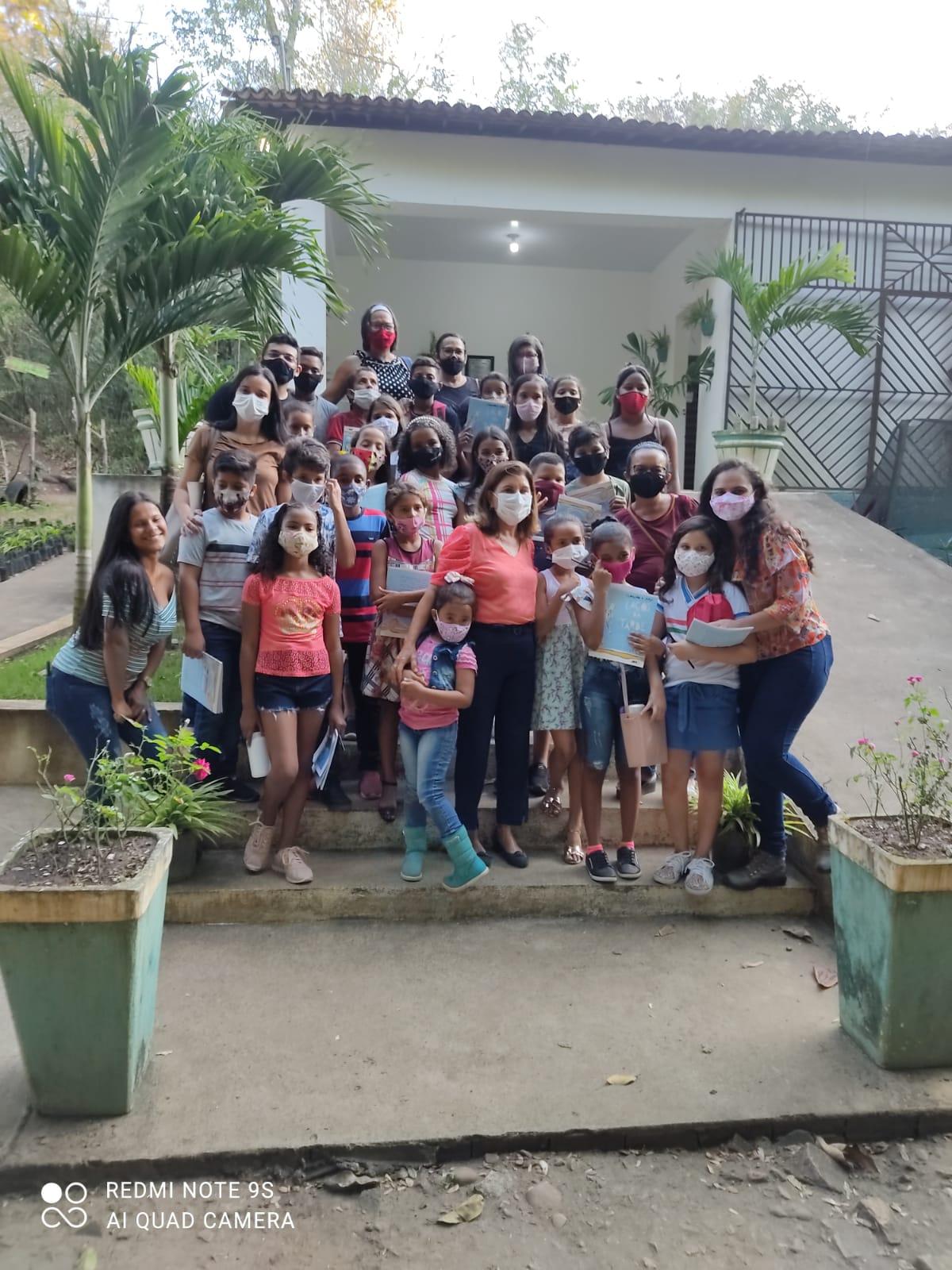 Mamanguape comemora Dia da Árvore com plantio, doação de mudas e palestra educativa