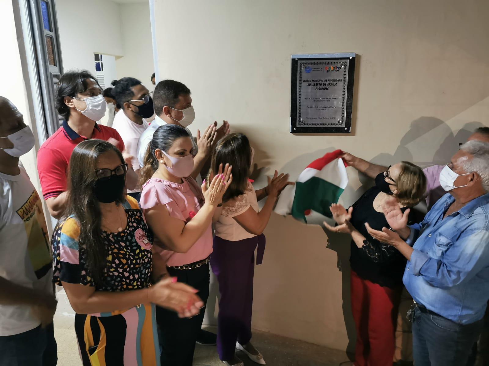 Prefeitura de Mamanguape inaugura Centro Municipal de Fisioterapia